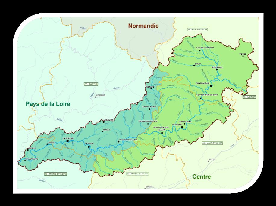 Situation BV Loir